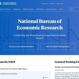 National Bureau of Economic Research   NBER