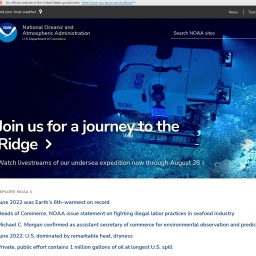 Homepage | National Oceanic and Atmospheric Administration