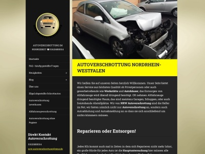 Nordrhein-Westfalen Autoverschrottung Thumb