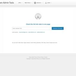 Website Review - Open Admin Tools