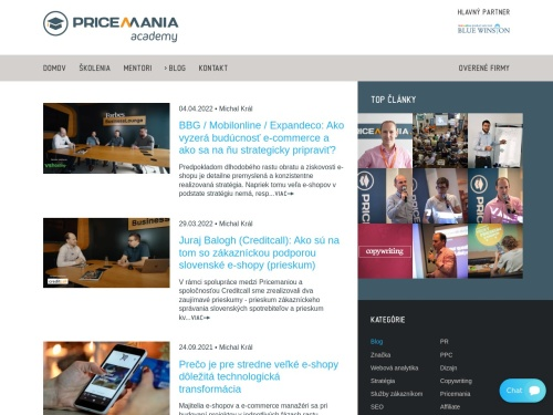 Pricemania Academy blog