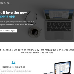 ReadCube – Software for Researchers, Libraries, and Publishers