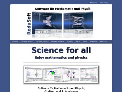 ReduSoft | Software für Mathematik und Physik - Interaktiv Thumb