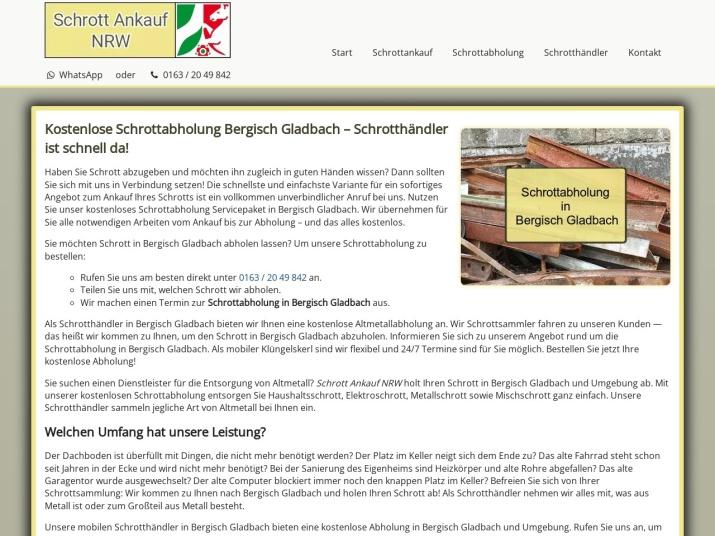 https://www.schrott-ankauf-nrw.de/schrottabholung-bergisch-gladbach.html