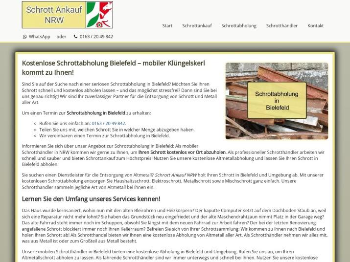 https://www.schrott-ankauf-nrw.de/schrottabholung-bielefeld.html