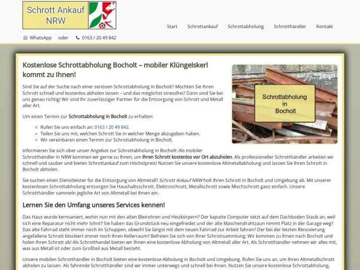https://www.schrott-ankauf-nrw.de/schrottabholung-bocholt.html