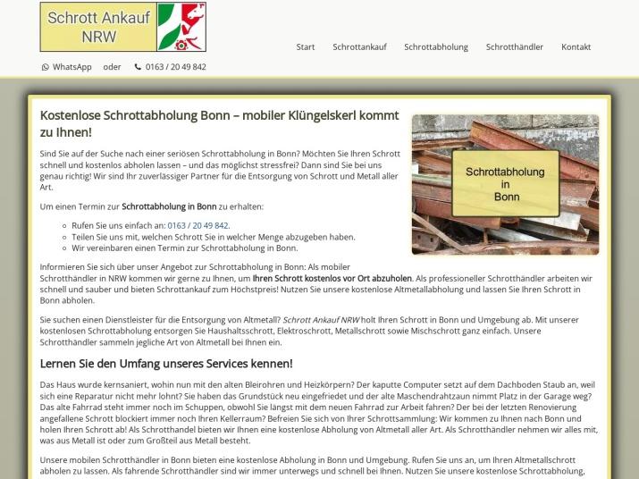https://www.schrott-ankauf-nrw.de/schrottabholung-bonn.html