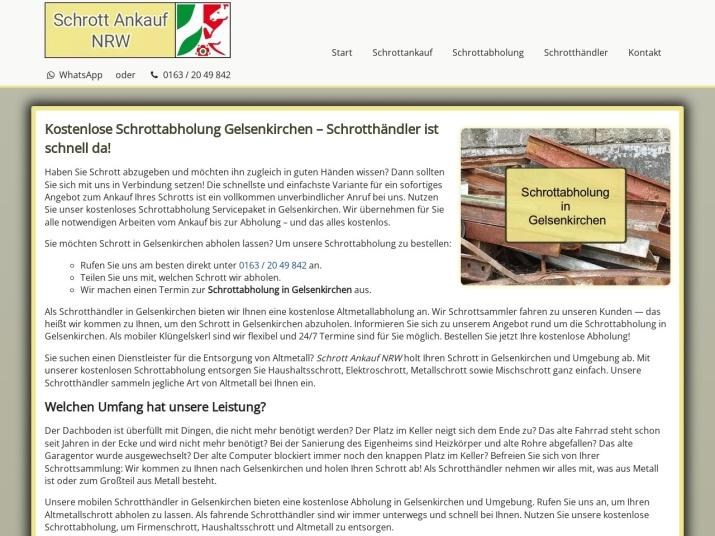 https://www.schrott-ankauf-nrw.de/schrottabholung-gelsenkirchen.html