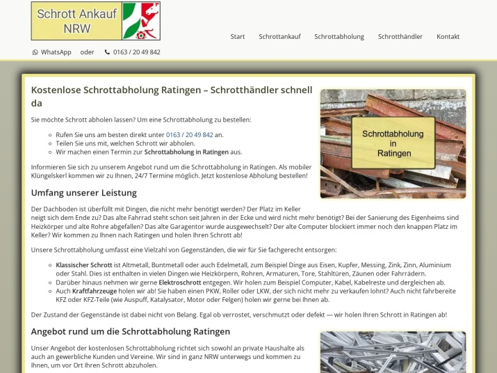 https://www.schrott-ankauf-nrw.de/schrottabholung-ratingen.html