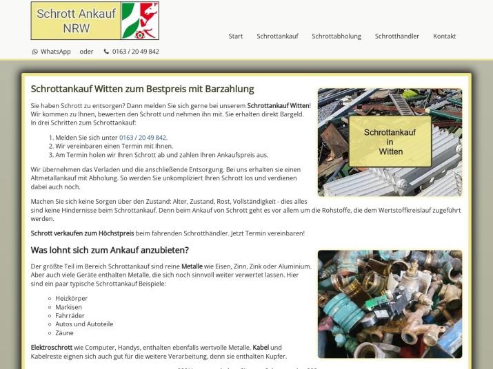 https://www.schrott-ankauf-nrw.de/schrottankauf-witten.html