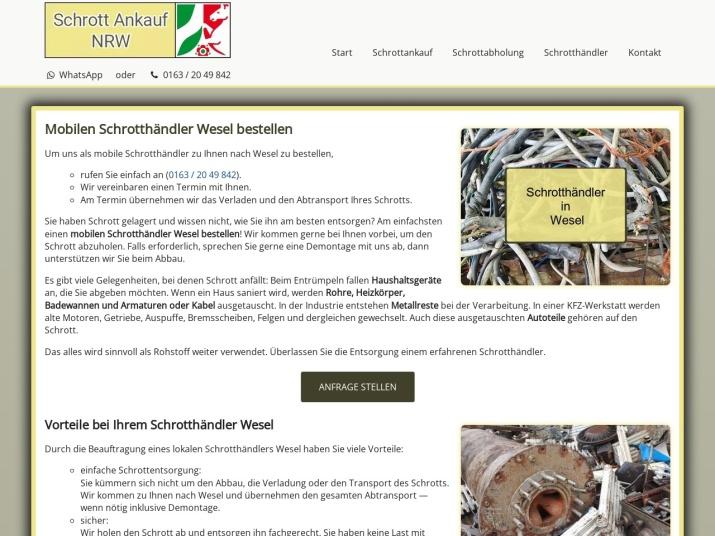 https://www.schrott-ankauf-nrw.de/schrotthaendler-wesel.html