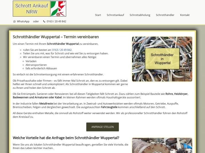 https://www.schrott-ankauf-nrw.de/schrotthaendler-wuppertal.html