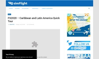 FS2020 – Caribbean and Latin America Quick Tour
