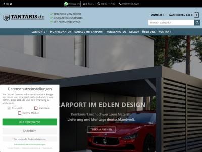 Hochwertig edle Carports und Garagen aus Stahl kaufen! Thumb