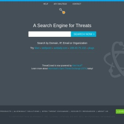 Threat Crowd | Threatcrowd.org Open Source Threat Intelligence
