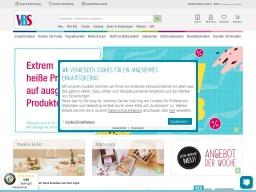 VBS Hobby Homepage Screenshot