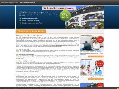 Wohngebäudeversicherung Stiftung Warentest Thumb
