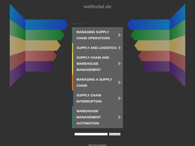 Screenshot des Onlineshops von Wellindal
