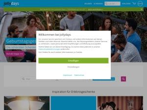 jollydays Webseite