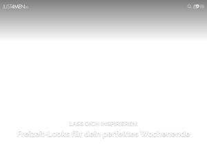 just4men Webseite