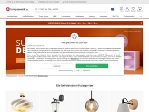 lampenwelt Webseite