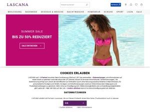 lascana Webseite