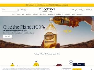 loccitane Webseite