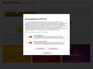lotto Webseite