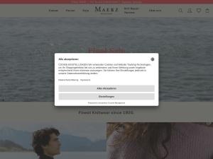 maerz Webseite