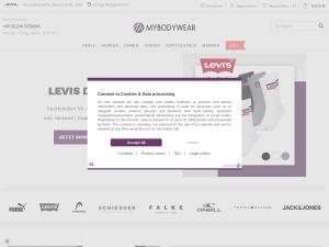 mybodywear Webseite