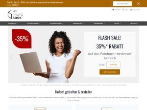 myphotobook Webseite