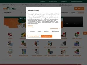 mytime-de Webseite