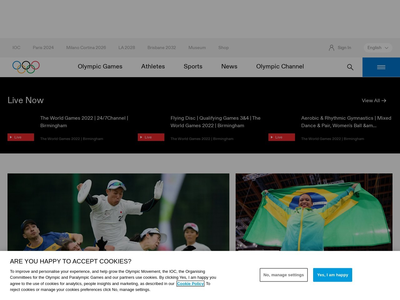 国际奥委会Olympics | Olympic Games,