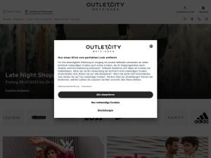 outletcity-metzingen Webseite