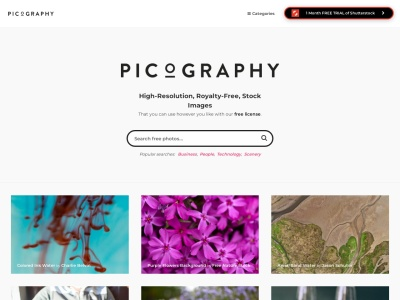 picography.co Screenshot