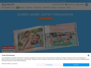 pixum Webseite