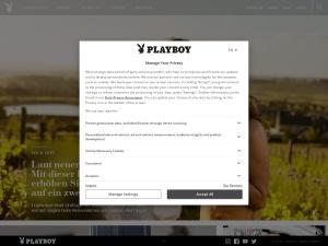 playboy Webseite