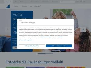 ravensburger Webseite
