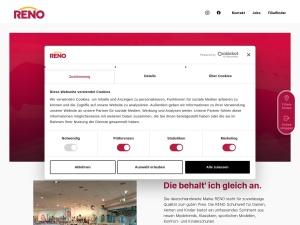 reno Webseite