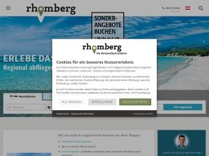 rhomberg Webseite