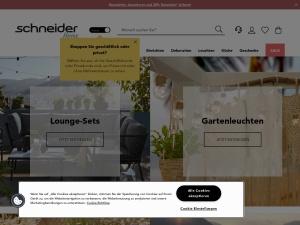 schneider-de Webseite