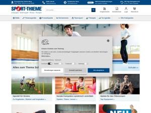 sport-thieme Webseite