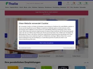 thalia Webseite