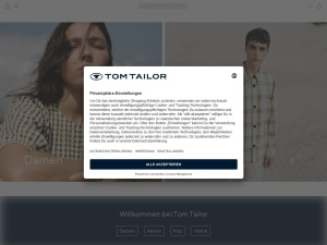 tom-tailor Webseite