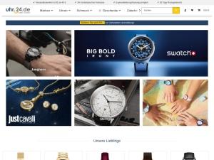 uhr24 Webseite