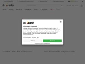 uhrcenter Webseite