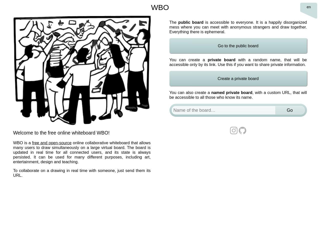 在线白板_WBO
