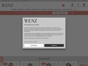 wenz Webseite