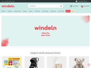 windeln-de Webseite