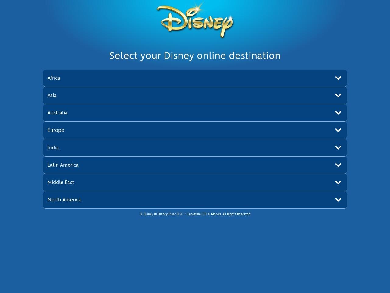 迪士尼国际官网